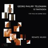 ProduktnameTelemann 12 Fantasien für Viola da Gamba