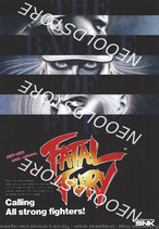 FATAL FURY USA FLYER