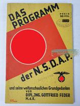 Buch - Das Programm der NSDAP