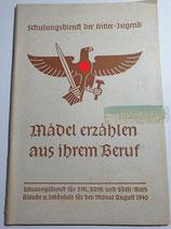 Heft - Schulungsdienst der HJ August 1940