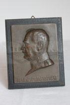 Bronze Relief - Generaloberstabsarzt Prof. Dr. A. Waldmann