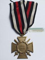 Ehrenkreuz für Frontkämpfer - L. NBG. mit Bandabschnitt