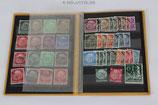 """Sammlung - Briefmarken """"Deutsches Reich"""""""