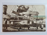 """Feldpostkarte - S.M.S. """"Ostfriesland"""""""