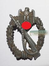 Infanterie Sturmabzeichen - Silber FZS (Nadelbock verdreht)