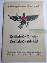 Heft - Schulungsdienst der HJ Folge 2 Oktober 1940