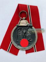 Medaille Winterschlacht im Osten 1941/42 mit Bandabschnitt (4)
