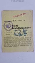 Reichskleiderkarte - Fliegerschaden