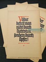 Wochenspruch der NSDAP - Folge 31 28. Juli bis 3. August 1940