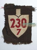 RAD Abteilung 7/230 - Bad Blankenburg XXIII Thüringen (Stoff braun)