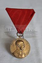 Österreich - Erinnerungsmedaille Franz Joseph I