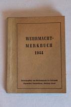 Wehrmacht  Merkbuch 1944