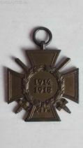 Ehrenkreuz für Frontkämpfer - T.H.W.