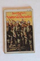 Heft - Soldaten- und Vaterlandslieder