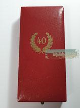Treuedienst Ehrenzeichen - 40 Jahre im Etui (3)