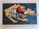 Ganzsachen - Postkarte Wir danken unserem Führer