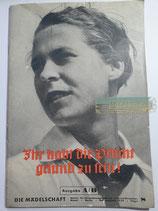 Heft - Die Mädelschaft Folge 8 Mai 1939 Ausgabe A/B