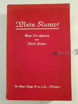 """Buch - """"Mein Kampf"""" 1. Band 2. Auflage 1926"""