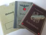 Dokumentengruppe - Wehrpaß & Arbeitsbuch