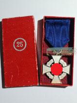 VERKAUFT!!! Treuedienst Ehrenzeichen - Einzelspange 25 Jahre im Etui
