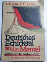 """Buch - """"Deutschlands Schicksal an der Memel"""""""