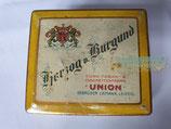 Zigaretten Dose - Herzog v. Burgund Union Leipzig
