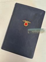 Buch - Mein Kampf Volksausgabe 1933 Auflage 44