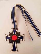 Mutterkreuz Silber mit Bandabschnitt