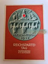 Ganzsachen - Postkarte Reichsparteitag 1937