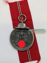VERKAUFT!!! Medaille Winterschlacht im Osten 1941/42 mit Bandabschnitt (2)