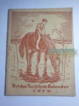 """Kalender - """"Reichstierschutzkalender"""" 1942"""