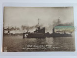 Feldpostkarte - S.M. Torpedoboot V 187