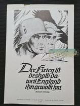Wochenspruch der NSDAP - 9. bis 15. Juni 1940 (2)
