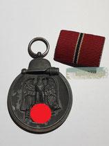Medaille Winterschlacht im Osten 1941/42 mit Feldspange - 6.