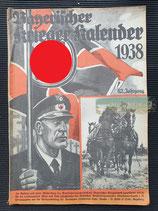 "Kalender - ""Bayerischer Kriegerkalender"" 1938"