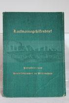 Kaufmannsgehilfenbrief IHK - 3. Reich