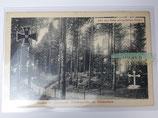 Feldpostkarte - Aachen Stadtwald Heldengräber (2)