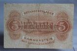 Gefangenengeld - Lager Hammerstein 5 Pfg.