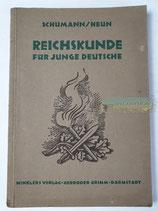 Buch - Reichskunde für junge deutsche