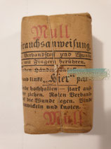 Verbandpäckchen - 1918