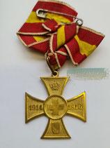 Baden - Kreuz für freiwillige Kriegshilfe 1914 (3)