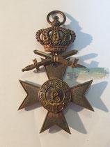 Bayern - Militärverdienstkreuz 3. Klasse mit Krone & Schwertern