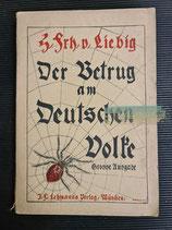 Buch - Der Betrug am Deutschen Volke