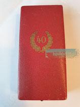 Treuedienst Ehrenzeichen - 40 Jahre im Etui (2)