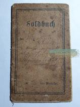 Soldbuch - 1864