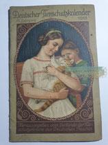 """Kalender - """"Deutscher Tierschutzkalender"""" 1915"""