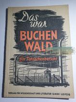 """Buch - """"Das war Buchenwald"""""""