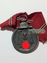 VERKAUFT!!! Medaille Winterschlacht im Osten 1941/42 mit Bandabschnitt (4)