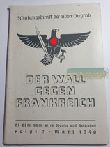 Heft - Schulungsdienst der HJ Folge 7 März 1940