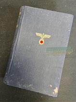 """VERKAUFT!!! Buch - Mein Kampf Volksausgabe 1943 """"Mängelexemplar"""""""